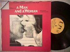 DISCO LP A MAN AND A WOMAN - COLONNA SONORA DEL FILM OST -ORIZZONTE 1976 NM/EX