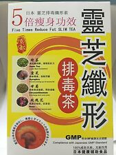 Wholesale Discount: Japanese Slim Tea (Reishi) 30 Tea Bags (7 Units for $120)