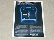 Technics RS-1506 Ultimate open Reel 4 track Ad, 1985, Specs, RS-1500, RS-1700