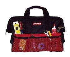 "NEW/Tags Craftsman 18"" inch Tool Bag Pouch Carrying Case Tote 2X Storage of 13"""