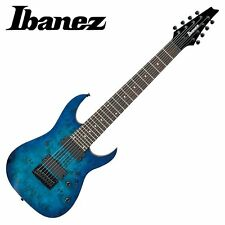 IBANEZ RG8PB-SBF 8st Electric Guitar Sapphire Blue Flat F/S From Japan #