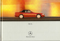 Mercedes-Benz SL 2000-01 UK Market Hardback Sales Brochure 280 320 500 600