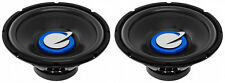 """NEW (2) 12"""" SubWoofer Speakers.4 ohm.Bass.CAR Audio Truck sub woofers.PAIR.Lows"""