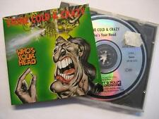 "STONE COLD & CRAZY ""WHO'S YOUR HEAD"" - CD"