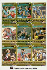 2006 AFL Teamcoach Trading Cards How To Play Team set Port Adelaide (9)