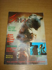 SAMHAIN #18 FN (6.0) DECEMBER 1989-JANUARY 1990 DEAD CALM HORROR MAGAZINE