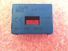 LEM LA-100P  100A  Current Transducer  lot of two