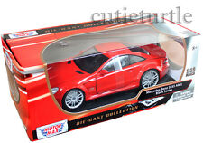 Motormax 79161 Mercedes Benz SL 65 Amg Black Series 1:18 Diecast Red