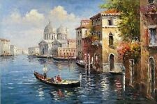 Impressionist Landscape oil painting Venice art canvas painting  FV103