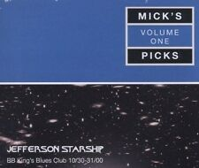 JEFFERSON STARSHIP - MICK'S PICKS Vol. 1 Live At BB King's 3CDs (NEW SEALED)