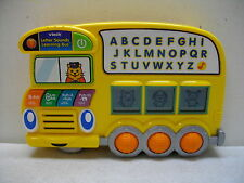 VTECH  LETTER SOUNDS LEARNING BUS PHONICS LEARNING ELECTRONIC SCHOOL BUS TOY