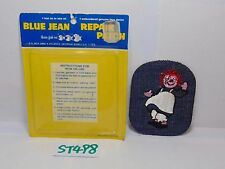 1974 EMBROIDERED BLUE JEAN PATCH VINTAGE RAGGEDY ANN RARE NEW NOS