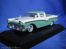 FORD RANCHERO 1957 UTE 1:43 NEW 94215 GREEN WHITE YATMING ROAD SIGNATURE