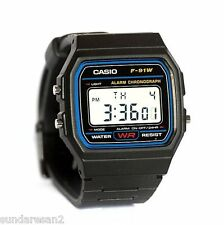 ORIGINAL Retro Style CASIO F 91 W Unisex Multifunctional Sports Watch-WR