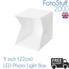 Professional piccoli 22 cm PHOTO STUDIO KIT PORTATILE LUCE MINI BOX Cubo Tenda UK