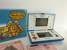 NINTENDO GAME&WATCH GOLDCLIFF BOX NOTICE