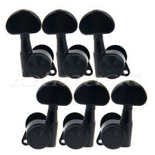 3L3R Electric Guitar String Tuning Pegs Locking Tuners Keys Machine Heads Black
