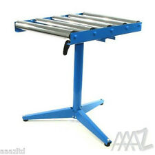 5-Roller Stand Woodworking Metal Bench Top 590mm 975mm Roller Sip DIY
