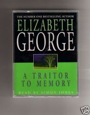 AUDIO BOOK - CASSETTES- ELIZABETH GEORGE   - A TRAITOR TO MEMORY