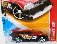 2012 Hot Wheels #182 THRILL RACERS ROAD COURSE ∞ FLIGHT '03  ∞ MF RED