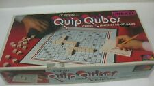 Scrabble Quip Qubes Board Game 1981 #95 From Selchow & Righter             gm262