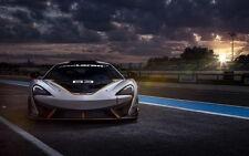 """301 Super Racing Car - McLaren 650S GT3 Race Car 22""""x14"""" Poster"""