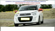 CITROEN C1   Wing DOOR Mirror ELECTRIC RH OR LH PRO PAINTED ANY CITROEN COLOUR