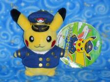 Pikachu as a KIX Pilot Key Chain Plush Doll Toy Pokemon Center Japan NwTs 2014