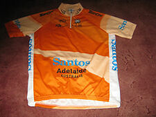 SANTOS TOUR DOWN UNDER SANTINI 2010 LEADERS ORCHE ITALIAN CYCLING JERSEY [XL]