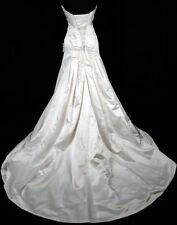 ORG $700 RSM1082 Sottero & Midgley White 10 Formal Wedding Dress Bridal Gown