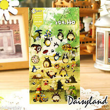 Studio Ghibli Totoro Sticker Scrapbook Diary Book Decoration Label Collection