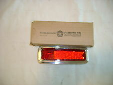 NOS MOPAR 1970 SUPER BEE,CORONET,R/T,500 LEFT REAR SIDE MARKER LIGHT ASSY. NIB!!