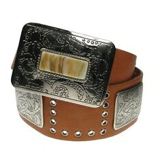 Ladies Wide Fashion Belts Women's Waist Belts Diamond Stud Designs Large Size