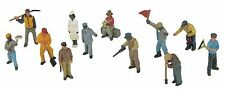 MTH 30-11066, O Gauge, 12-Piece Passenger Figure Set - Railroad Workmen