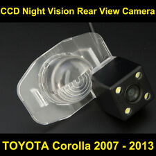 Rear view Camera BackUp Reverse Parking Camera for TOYOTA Corolla 2007-2013 Car