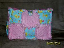 Pink Minky TWEETY BIRD Rag Quilt Diaper Bag Tote Purse Hand Crafted