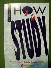 How to Study for All Ages by Ronald W. Fry (1989, Paperback) FREE SHIPPING!!!!!!