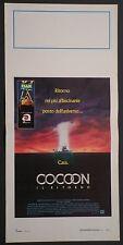 Locandina COCOON IL RITORNO 1988 DON AMECHE COURTENEY COX  20TH C.FOX