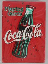 Playing Cards #351 Coca-Cola Closed Bottle Box - Factory Sealed