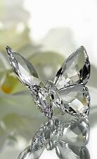 SWAROVSKI BUTTERFLY CLEAR CRYSTAL 1183940 MINT BOXED RETIRED RARE