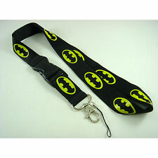 Batman Lanyard, ID card holder, Key Neck Strap Lanyard, Neck Strap + GIFT