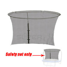 REPLACEMENT SAFETY Net Enclosure for 8ft ROUND TRAMPOLINE with 8 Poles