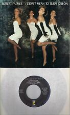 ROBERT PALMER I Didn't Mean To Turn You On /Through Your Heart 45 with PicSleeve