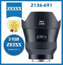 Zeiss Batis 18mm f/2.8 Lens for Sony E Mount Mfr# 2136-691