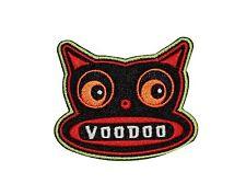 Voodoo Cat Bat Idol Tiki Totem by Artist Chico Von Spoon Iron On Applique Patch