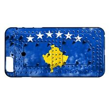 Coque iPhone Plus 7 Plus Drapeau KOSOVO 06