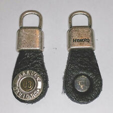 2003 100th Harley Davidson Anniversary Zipper Pull-JACKET~VEST~KEY CHAIN~EARRING