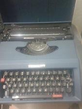 Antigua Maquina de escribir portatil Antares Compact 89