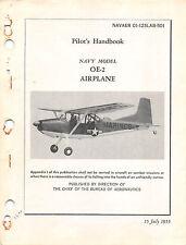OE-2 Bird Dog Pilot's Handbook Flight Operating Instructions Flight Manual -CD-