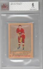 1951-52 Parkhurst #59 TONY LESWICK rookie BVG 6.0 (Ex-Mt) Detroit Red Wings